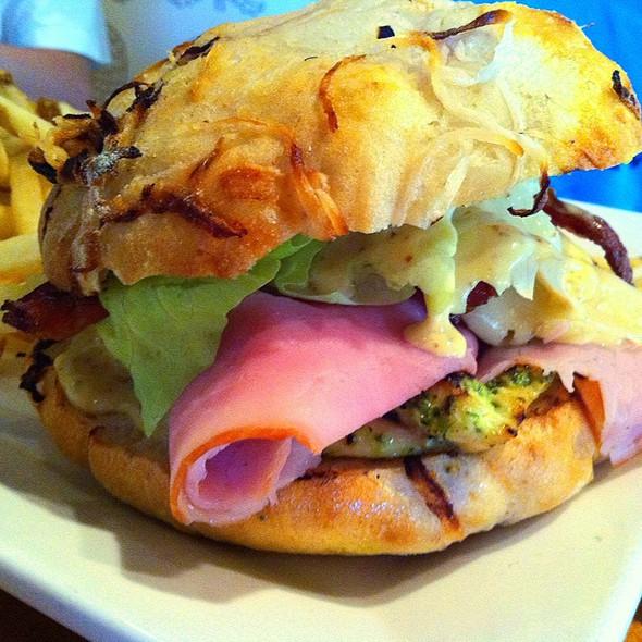 Grilled Chicken Club Sandwich - The Greene House - Kierland Commons, Scottsdale, AZ