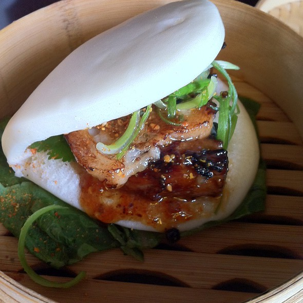 Steamed Pork Bun - Basho Japanese Brasserie, Boston, MA