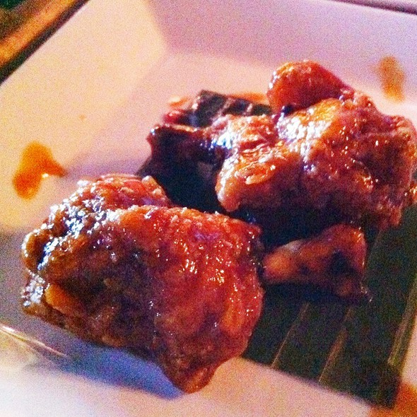 Adobo Wing Lollipops - Attic, San Mateo, CA