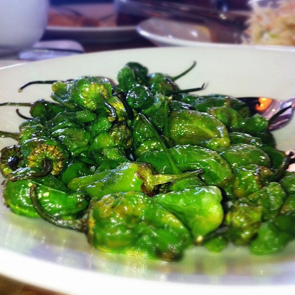 Fried Padron Peppers - Miller Union, Atlanta, GA
