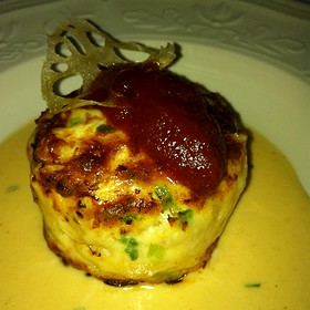 Jumbo Lump Crabcake  - The French Room, Dallas, TX