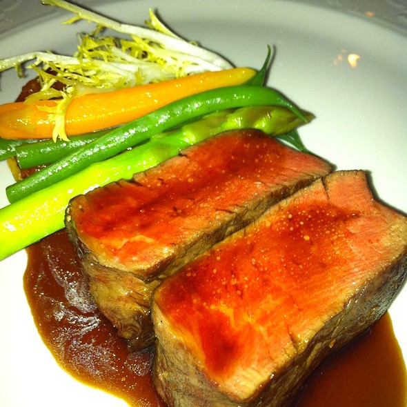 Beef tenderloin - The French Room, Dallas, TX