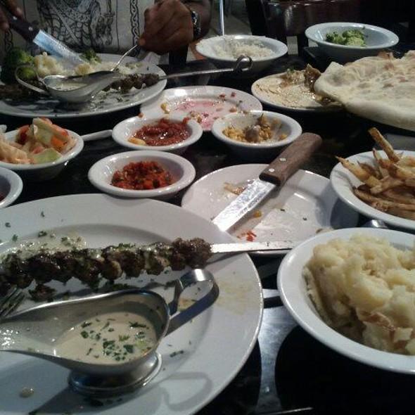 Middle Eastern Cabob - Hummus Bar & Grill, Tarzana, CA