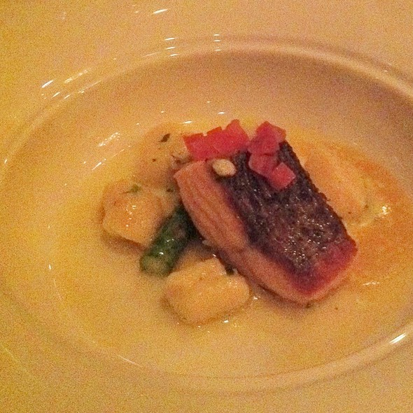 Salmon And Gnocchi - Raymonds Restaurant, St. John's, NF