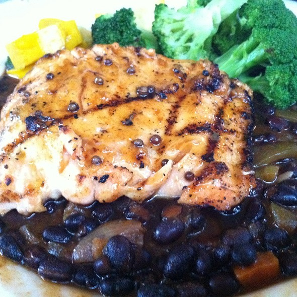 Habanero Maple Glazed Salmon - Dada, Delray Beach, FL