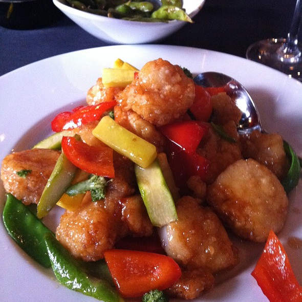 Crispy Honey Shrimp & Scallops - Jing Restaurant, Greenwood Village, CO