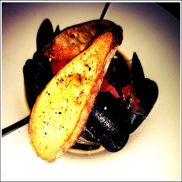 Steamed PEI Mussels - Open Kitchen, Falls Church, VA