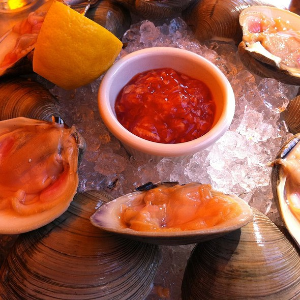 Cherrystone Clams - Da Silvano, New York, NY