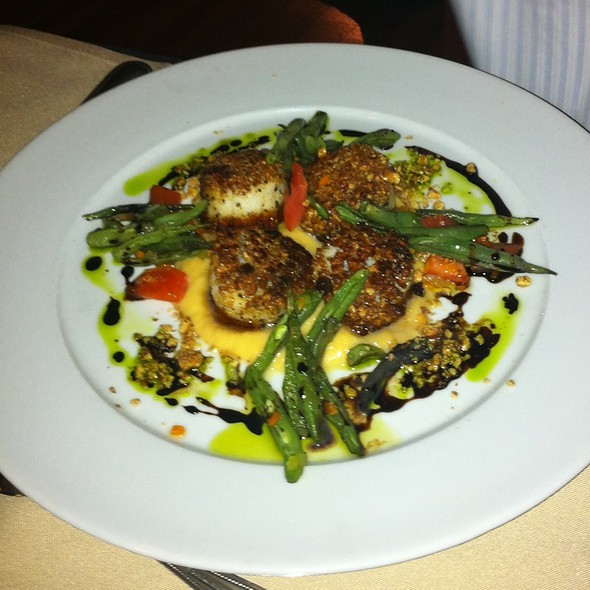 Scallops - Lambert's Cove Inn & Restaurant, West Tisbury, MA