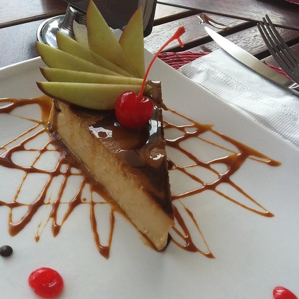 Flan with cajeta - Coexist Café, Puerto Vallarta, JAL