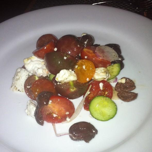 Heirloom Tomato Greek Salad - Lumiere, West Newton, MA