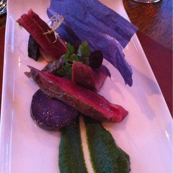 Pigeon Salad - The Feathered Nest Country Inn, Nether Westcote, Oxfordshire