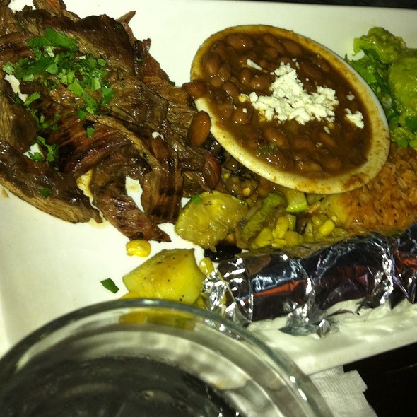 carne asada - Laredos Grill, Seattle, WA