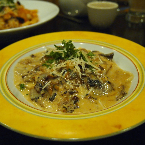 Wild Mushroom Ravioli - Marco Polo's @ The Viana Hotel & Spa, Westbury, NY