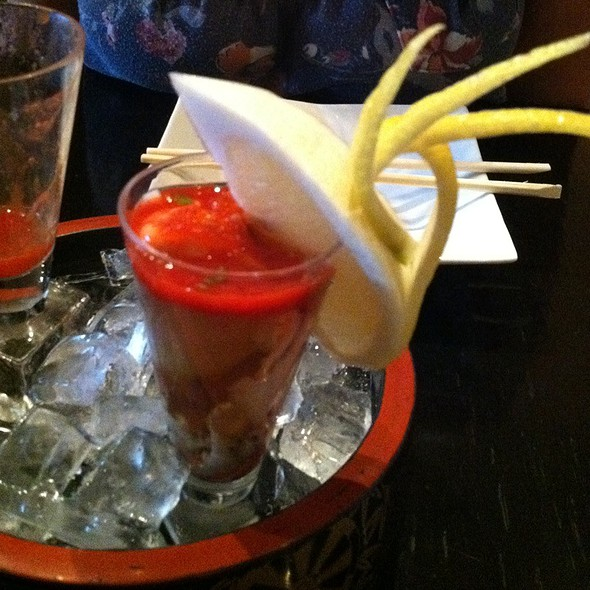 Oyster Shooters - Hachi's Kitchen, Chicago, IL