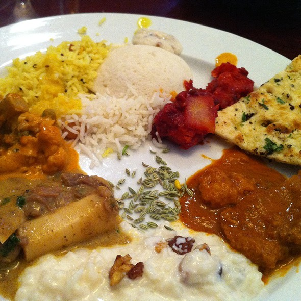 lunch buffet - Indus, West Palm Beach, FL