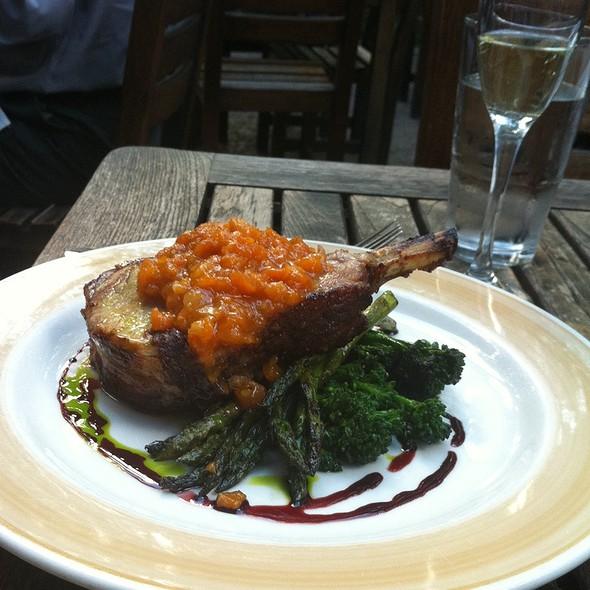 Rotisserie Pork Chop - The Tree Room @ Sundance, Sundance, UT