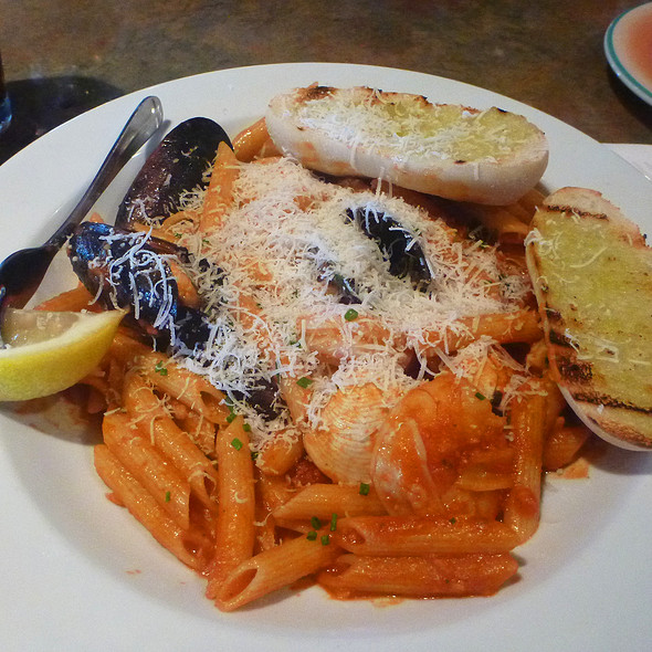 Seafood Pasta - Lombard's Seafood Grille, Orlando, FL