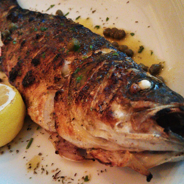 Whole Grilled Bronzini - Taverna Mykonos, Elmwood Park, NJ