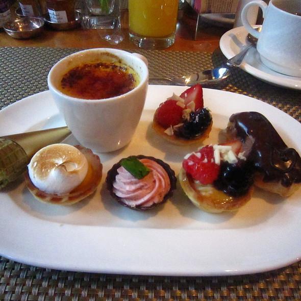 Dessert spread - Chez Colette - Sofitel Philadelphia, Philadelphia, PA