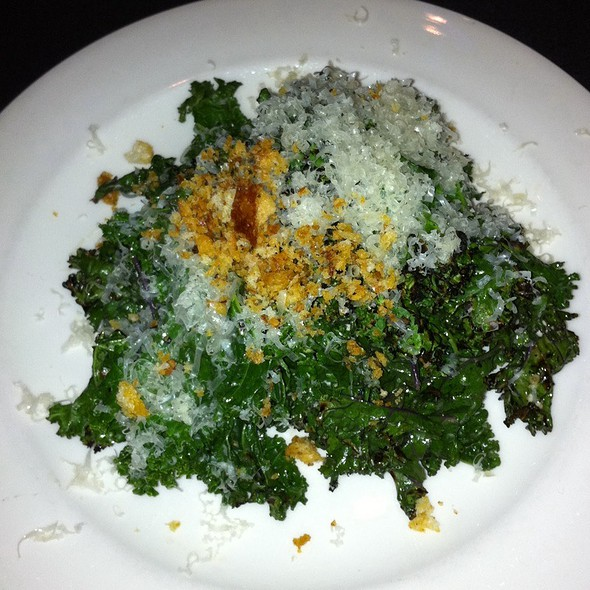 Grilled Kale Caesar - Red Feather Lounge, Boise, ID