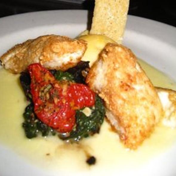 Pan-seared Wild Alaskan Halibut - The Brooklyn Seafood, Steak & Oyster House, Seattle, WA