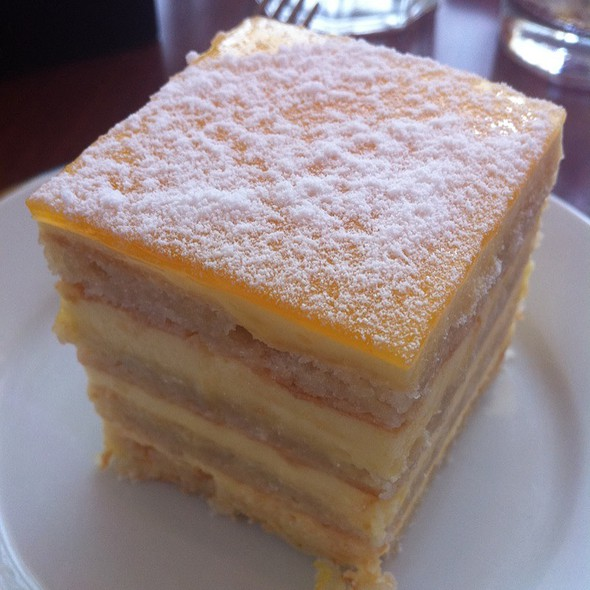 Lemon Almond Cake - Praline Bakery & Bistro, Bethesda, MD