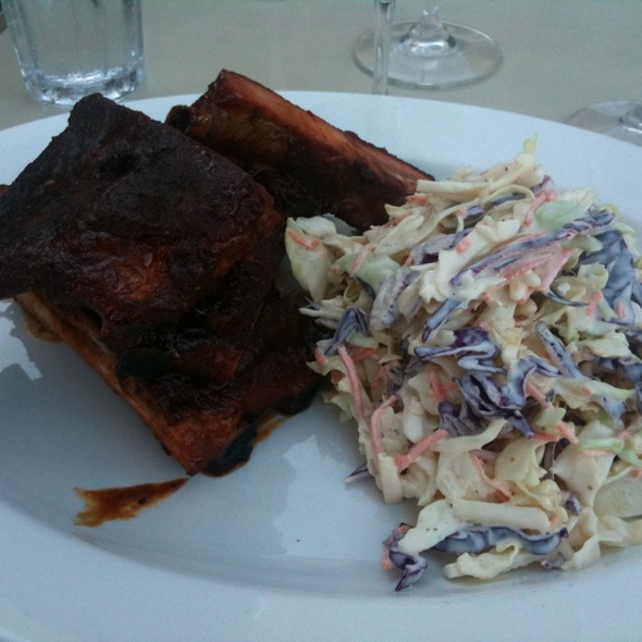 St. Louis-style Ribs - The Q Restaurant & Bar (fka BarBersQ), Napa, CA