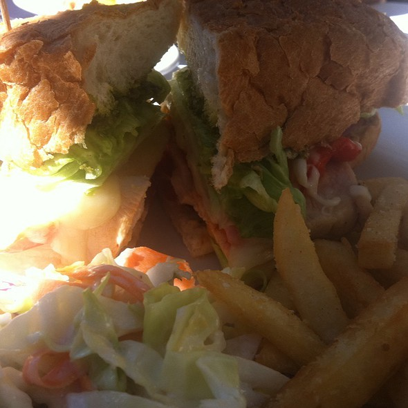 Roasted Chicken Sandwich - Rosy's at the Beach, Morgan Hill, CA