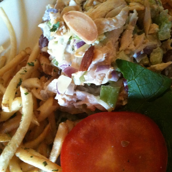 Chicken Salad Sandwich - OPAH Restaurant & Bar @ Town Center Aliso Viejo, Aliso Viejo, CA