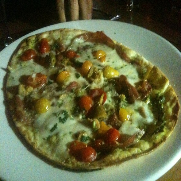 Flatbread Pizza - BALEENkitchen, Redondo Beach, CA