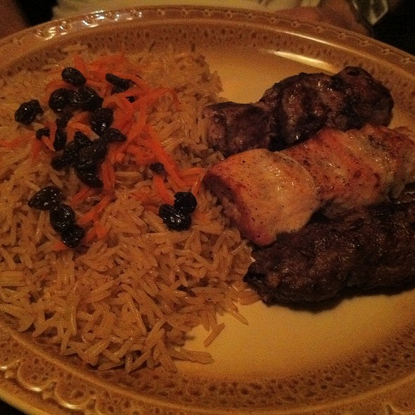 Kebab Combo - Afghan Kebab House, New York, NY