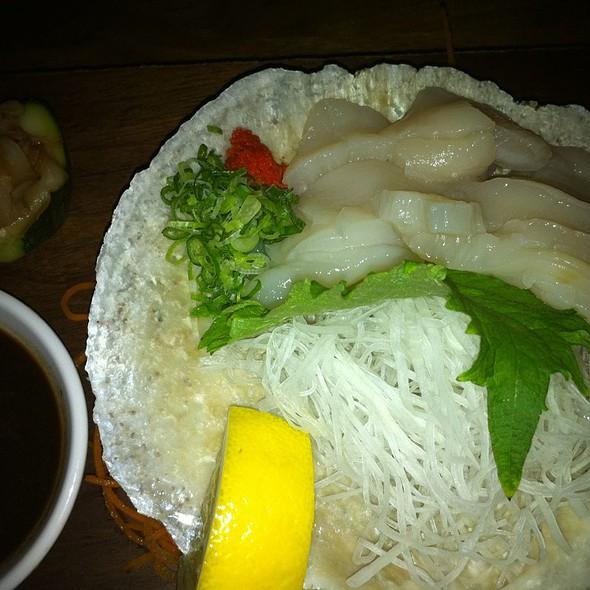 Whole Scallop Sashimi - Blue Ribbon Sushi Bar, New York, NY