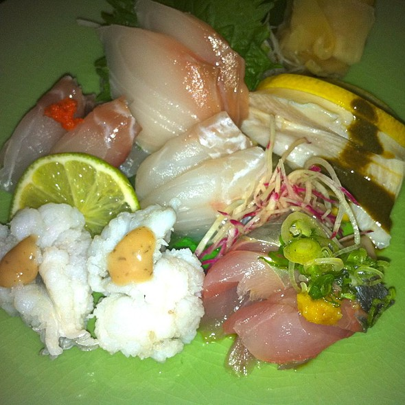 Sashimi Moriwase - Blue Ribbon Sushi Bar, New York, NY
