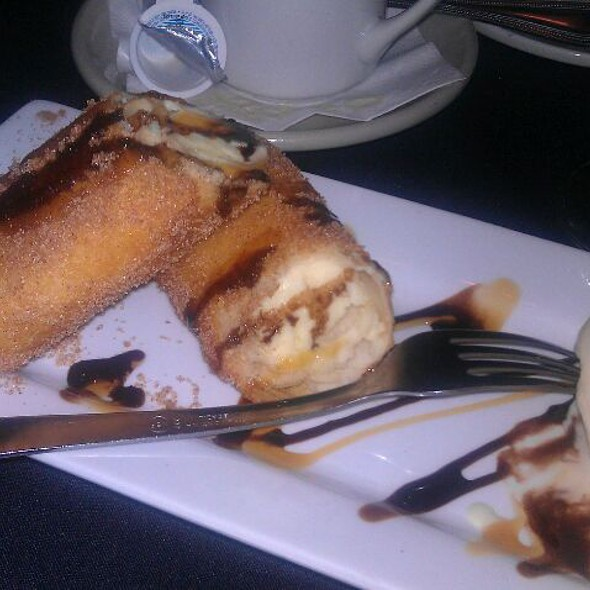 Fried Cheesecake - Newell House, Carbondale, IL