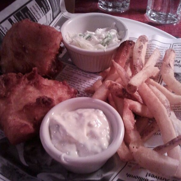 Fish and Chips - Iron Hill Brewery - Media, Media, PA