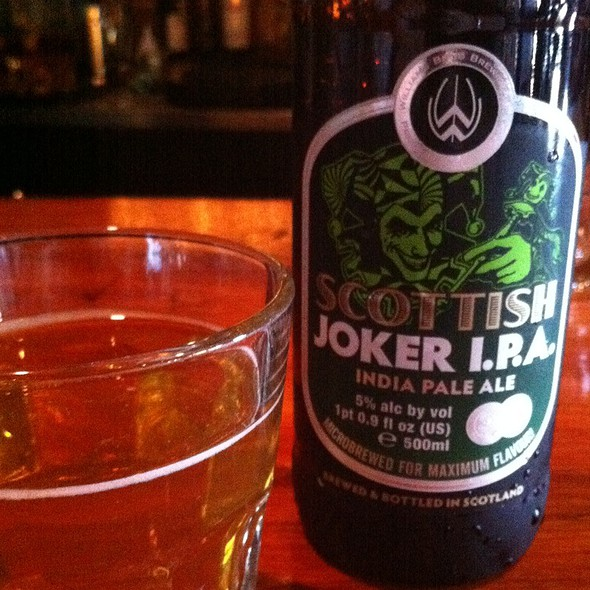 Scottish Joker Ipa - The Haven, Jamaica Plain, MA