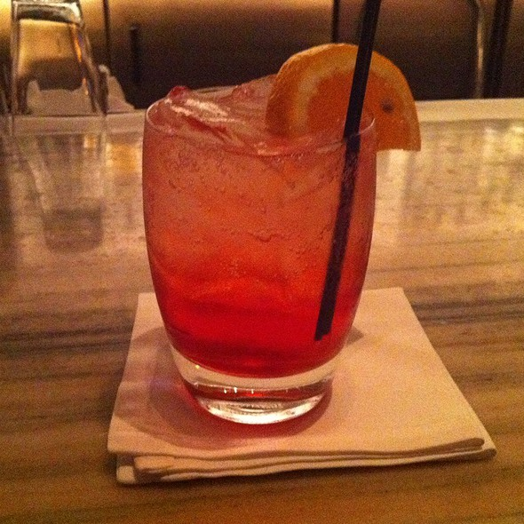 Campari and soda - Cosmos at Loews Minneapolis Hotel, Minneapolis, MN