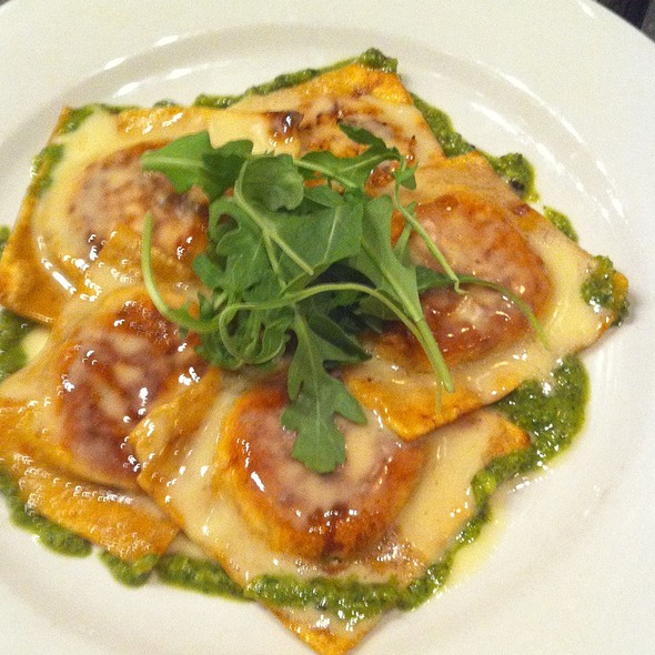 Pan Fried Chicken Ravioli - Cucina Dell' Arte, Palm Beach, FL