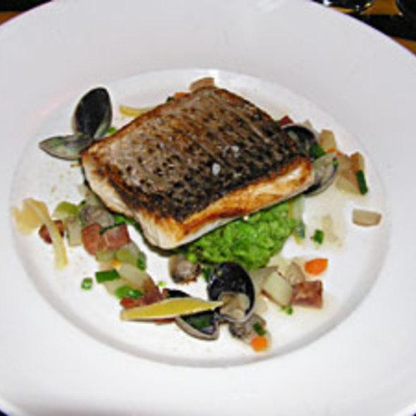Chili Glazed Organic Salmon - American  Seasons, Nantucket, MA
