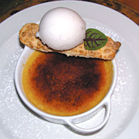 Creme Brulee - American  Seasons, Nantucket, MA