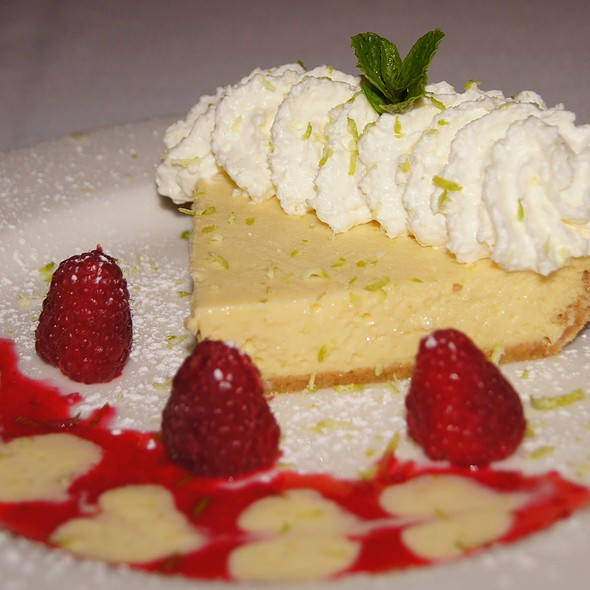 Key Lime Pie - Rosebud Steakhouse, Chicago, IL
