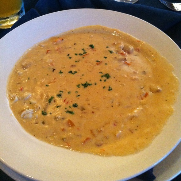 Shrimp And Clam Chowder - The Lifesaving Station - Sanderling Resort, Duck, NC