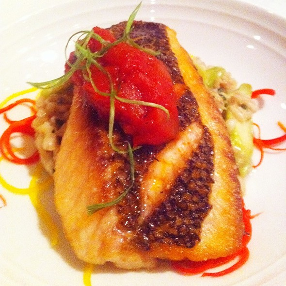 Pan Roasted Pacific Snapper - The Remington, Houston, TX