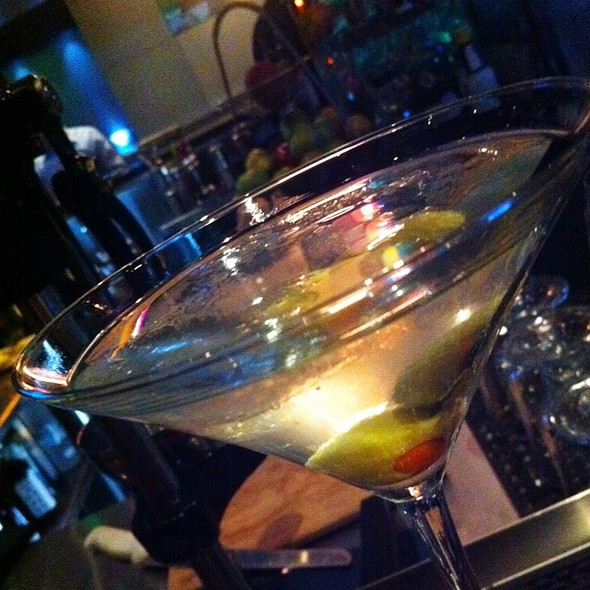Dirty Grey Goose Martini - Masraff's, Houston, TX