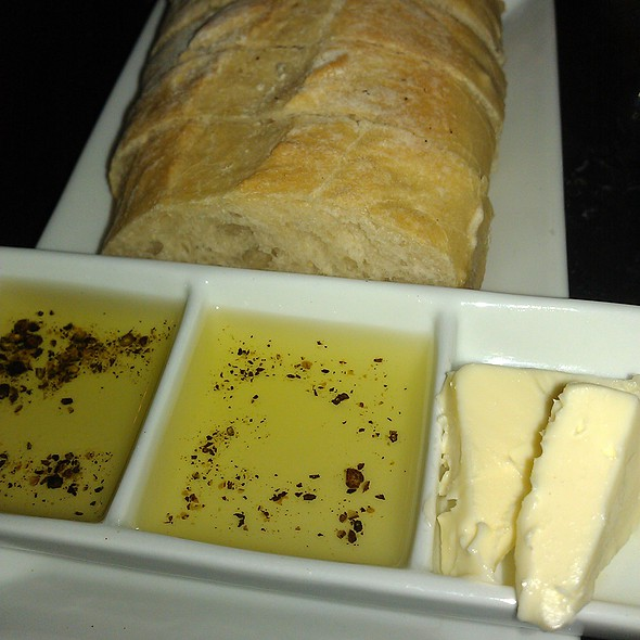 Bread, Olive Oil and Butter - Via Vino Enoteca, St. Louis, MO