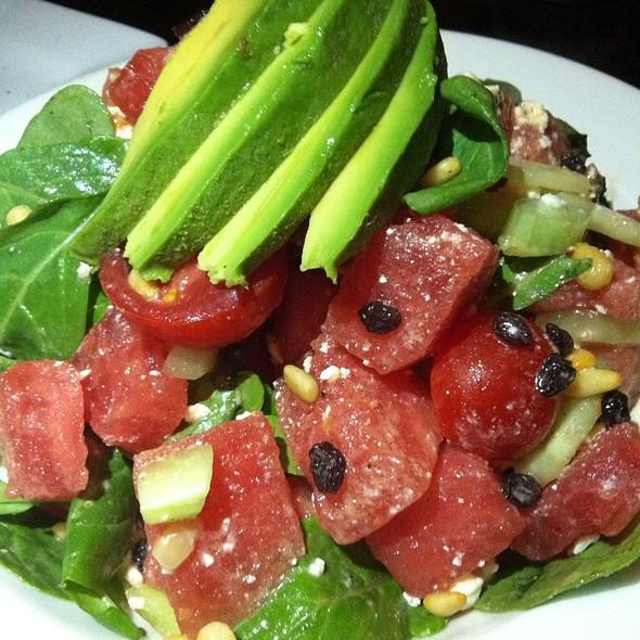 Watermelon, Cucumber,Tomato, Feta, Mint,Avocado, Pine Nuts - Urban Solace, San Diego, CA