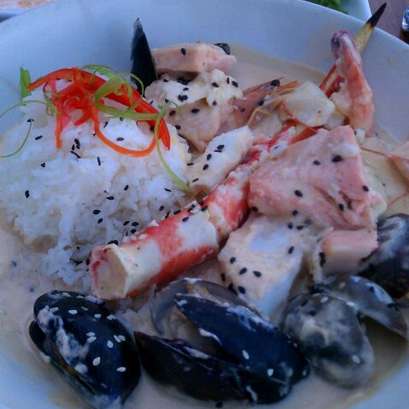 Thai seafood curry - Lobster Shop South, Tacoma, WA