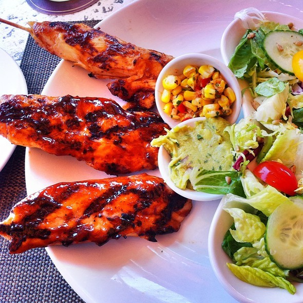 Grilled Chicken Skewers - Seasons 52 - Costa Mesa, Costa Mesa, CA