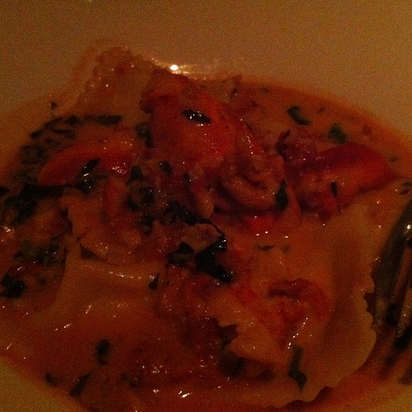 Lobster Ravioli - Tomatoes, Margate, NJ